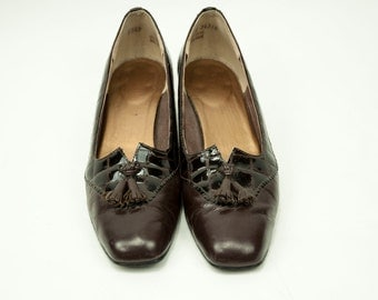 California Magdesians ~ Brown Tassel Loafers ~ Size 8 N