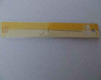 Needle of big eye beading needles by Bead Smith LE5-1, 5-12.5 cm