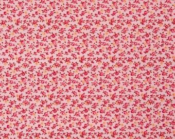 Rustic Blush Rosebud  Free Spirit Fabrics Verna Mosquera Cotton BFab