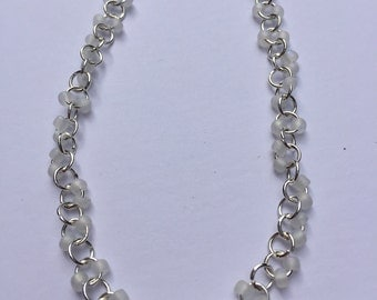 Chainmaille anklet