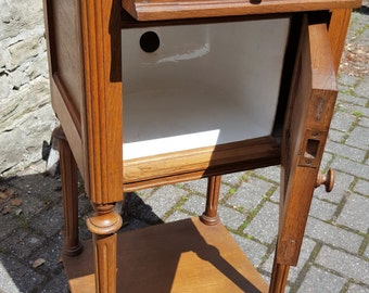 French Marble top Nightstand