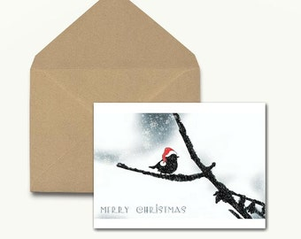 Little Bird Holiday Note Cards - Boxed Set of 10