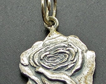 Butchart Gardens Victoria B.C  Sterling Silver Charm Canada Rose Flower Tourist Attraction 925