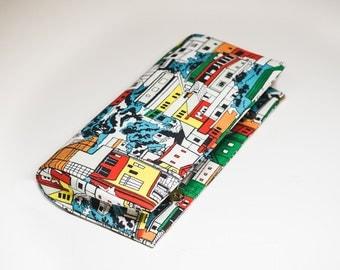 Riopolis Print Clutch Bag