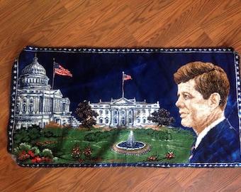 JFK Tapestry/ Wall Hanging/Carpet
