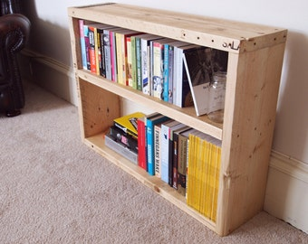 Reclaimed Scaffolding Board Bookcase
