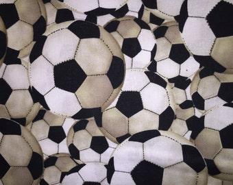 Soccer Ball Window Valance