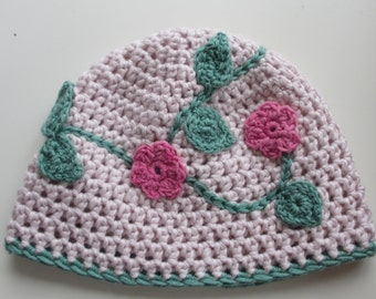 Cotton& Silk Girly Beanie