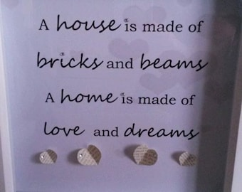 Home word art- quotes