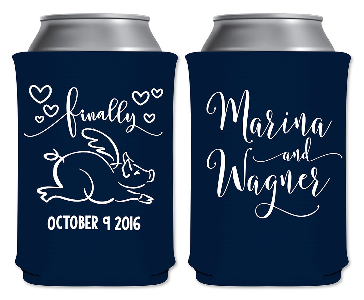 Funny Can Coolers ~ Funny can coolers beverage insulators personalized wedding