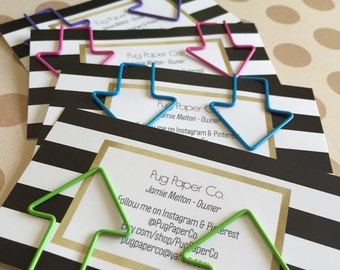 Arrow Paperclips, Set of Two