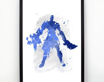 Kratos etsy for Minimal art vzla