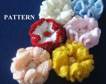 Flower Crochet Pattern Flower Crochet Flowers Pattern Flower Crochet Patterns Crochet Flowers Easy crochet Patterns Olga Andrew Designs 018