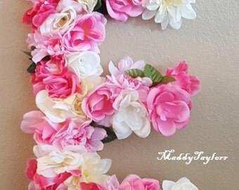 Floral Letter - MEDIUM