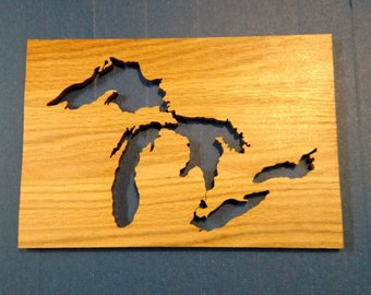 Great Lakes Silhouette oak