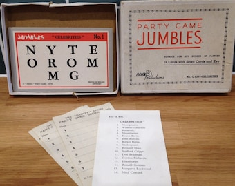 Jumbles Party Game