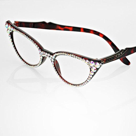 unique all detailed frame reading glasses embellish