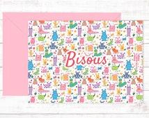 Postcards Bisous