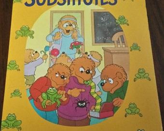 90s Vintage Berenstain Bears Book / Children's Books / Kids Books / Paperback / Bernstein / Berenstein / Bears / Scholastic / Book Fair