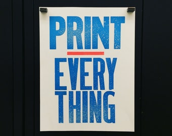 Print over Everything
