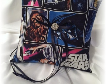 Star Wars Wedding Ring Pillow, Fantasy Wedding