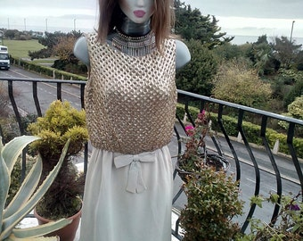 Ladies Vintage Sequin dress 1960's, now reduced