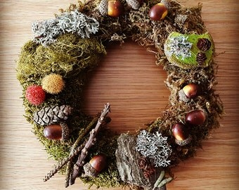 "Table Crown 'Forest' / ""Forest"" wreath"