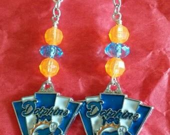 Beaded or Simple Dolphins Earrings