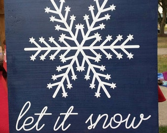 Let it Snow sigh