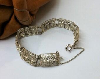 Filigranes 800 Art Nouveau traditional bracelet SA199