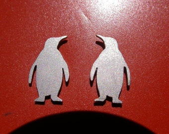 Penguin Earrings (design 1)