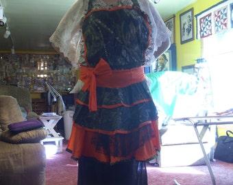 womens extra large camo apron