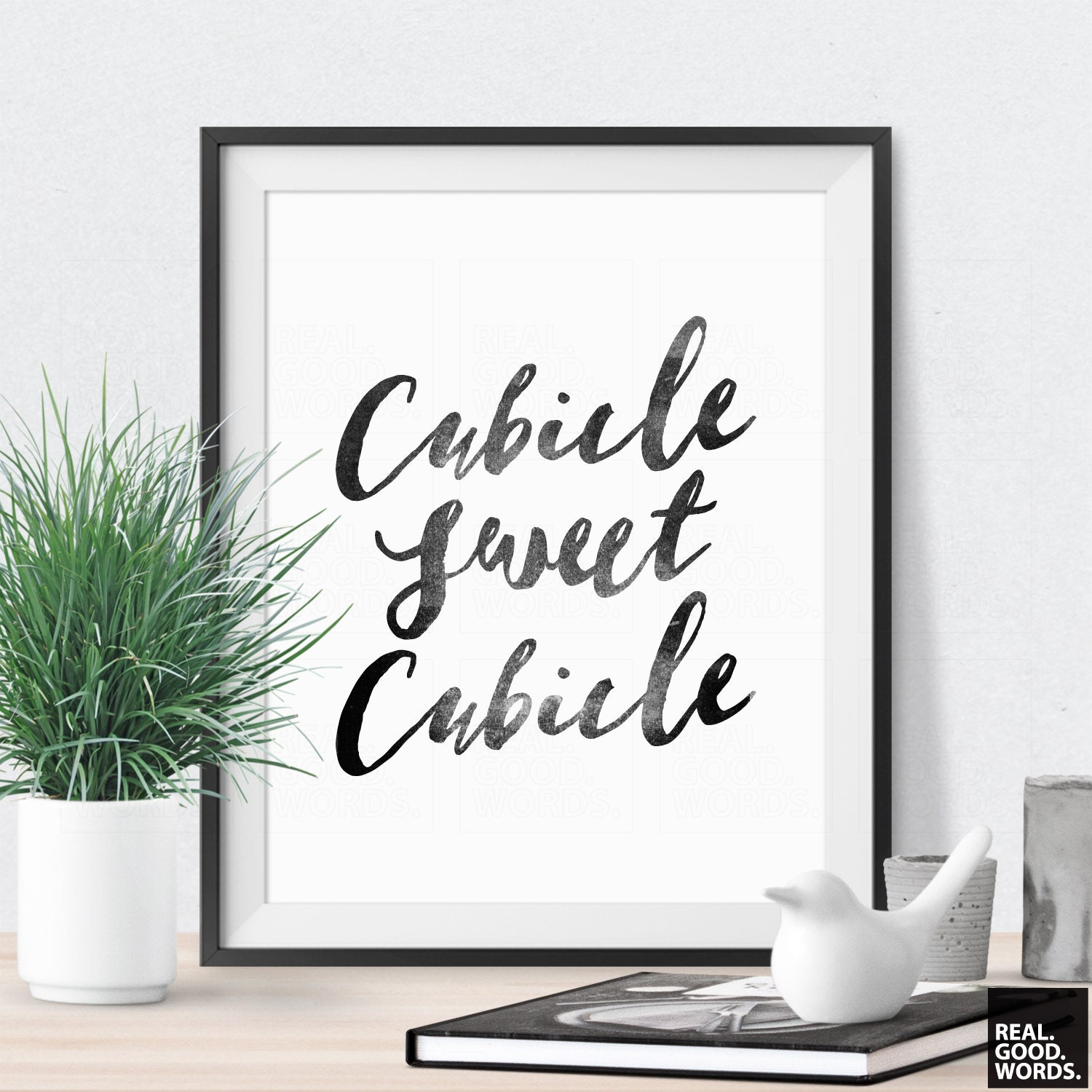 Cubicle decor cubicle sweet cubicle office wall decor office Art for office walls