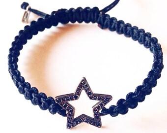 BLACK STAR bracelet