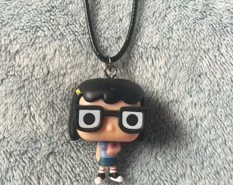 Funko Pop Vinyl Bobs Burgers Tina Belcher Figure Necklace
