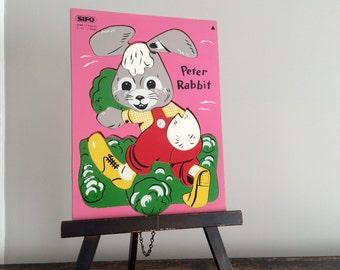Vintage Peter Rabbit Puzzle