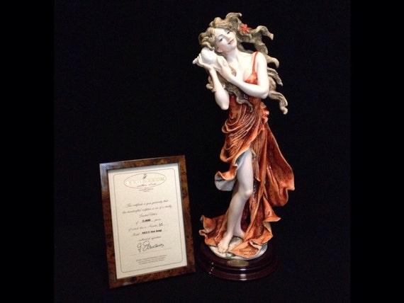 FREE SHIPPING-Fabulous-Made In Italy-Giuseppe Armani-863/C-Sea Song-Limited Edition-55/5000-COA