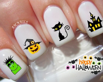 42 Halloween Nail Decals