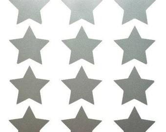 Star Wall Art star wall decals | etsy