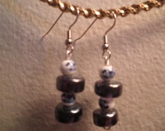 Earrings 125 Blue Willow