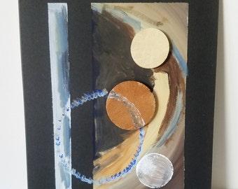 "Mixed Media Painting ""Texture 13"""