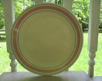Set of 4 Vintage McCoy Stonecraft Plates/Chargers