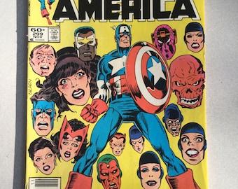 Captain America Marvel Comic Book