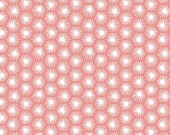 Morn's Ray Pink | Organic Cotton | Cloud9 Fabrics | 1 Yard