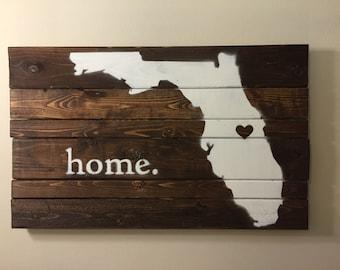 Florida Wood Sign