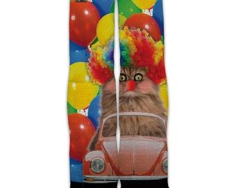Function - Clown Cat Fashion Socks
