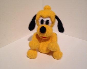 Crochet baby Pluto / crochet unique piece