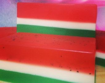 Watermelon Goatsmilk and Glycerine soap