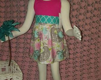 Ready to ship. Size 6-12mths dress