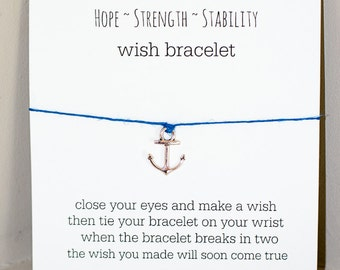 Anchor Wish Bracelet